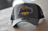 LA Lakers jersey essential grey A-Frame trucker cap
