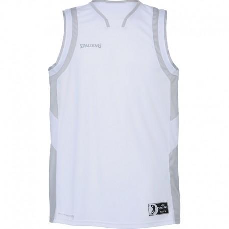 Vareuse de basket de match Allstar blanc/gris