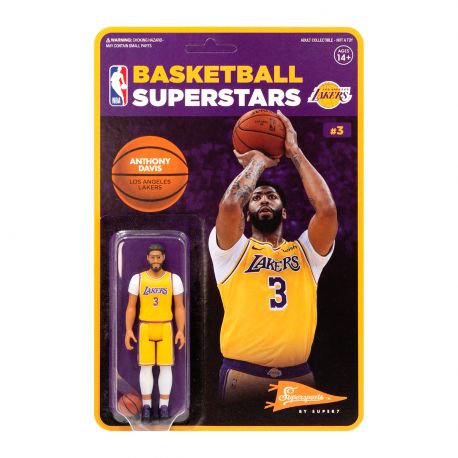 Figurine Super 7 d'Anthony Davis