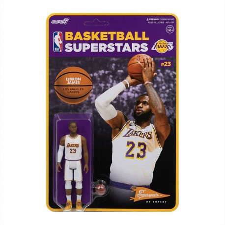 Super7 NBA Lebron James figure