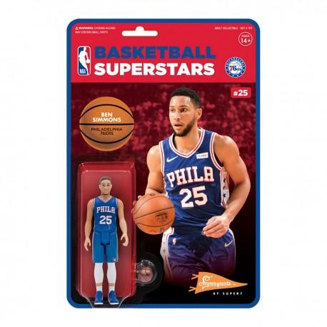 Super7 NBA Philadelphia 76ers Ben Simmons figure