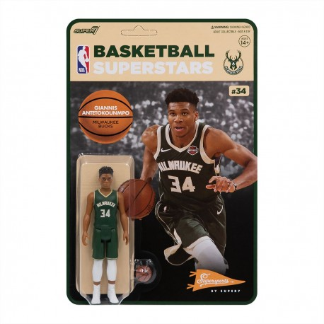 Super7 NBA Bucks Giannis Antetokoumpo figure