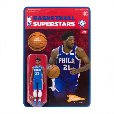 Super7 NBA Philadelphia 76ers Joel Embiid figure