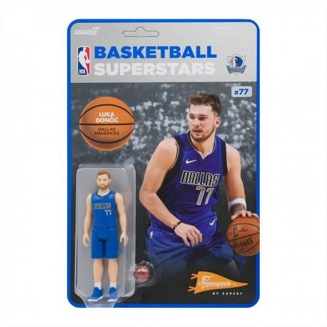 Super7 NBA Dallas Mavericks Luka Doncic figure