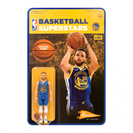 Figurine Super 7 de Steph Curry