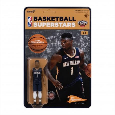 Super7 NBA Pelicans Zion Williamson figure