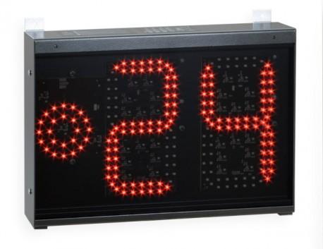 Basketball 24 second shot clock for backboards