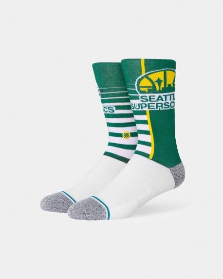 NBA Gradient Sonics socks