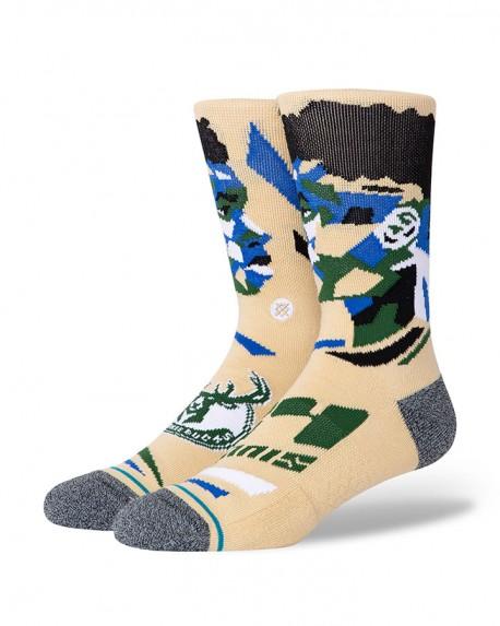 NBA Stance Profiler Giannis Antetokounmpo socks