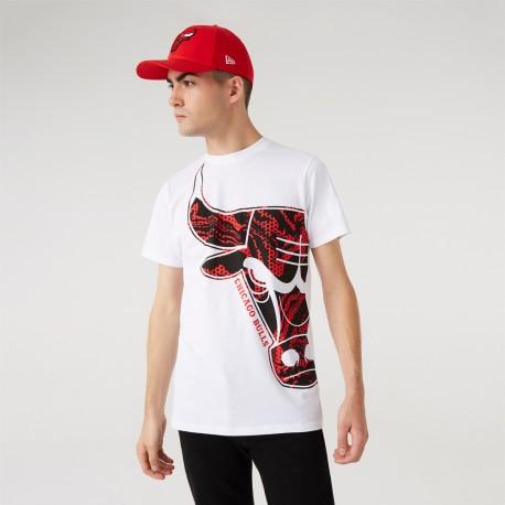 T-shirt NEW ERA Chicago Bulls Oil Slick Infill