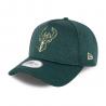 9Forty NewEra A frame cap of the Milwaukee Bucks