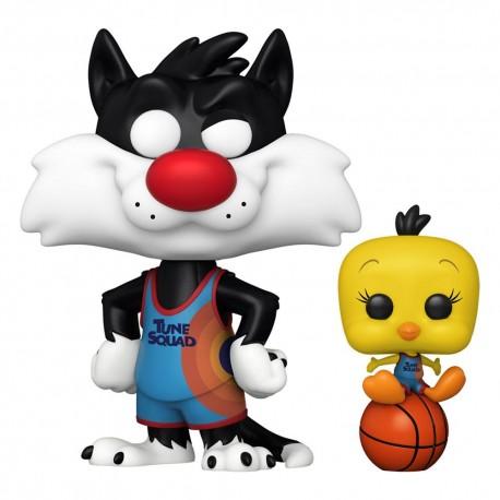 Space Jam2 Sylvester and Tweety Pop figure