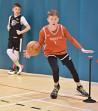 Set of 6 stakes for basketball blazepods kit