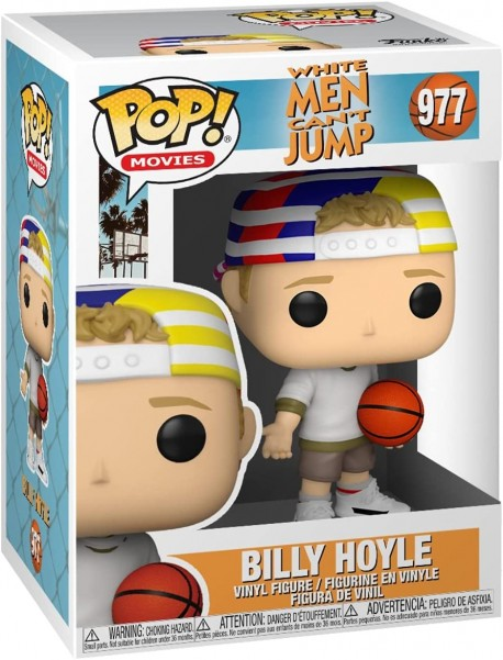 Billy Hoyle funko Pop figure of the White men can't Jump movie