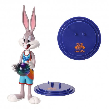 Bendyfigs Figure of Bugs Bunny in Space Jam 2