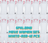 Set complet de jeux de maillot de match Move femmes
