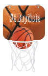 Panier de basket supporter