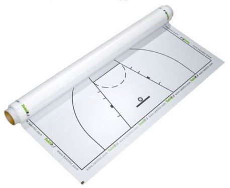 Basketball electrostatic tactical board