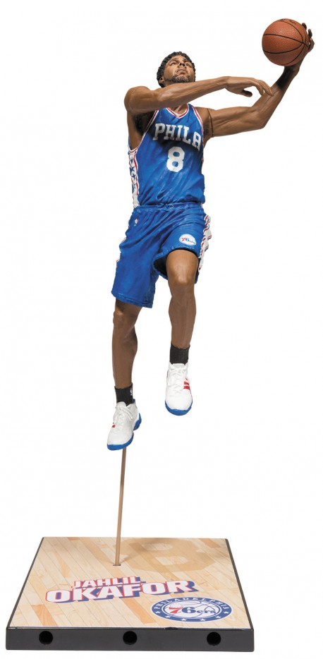 Mc Farlane NBA Philadelphia 76ers Jahlil OKAFOR figure