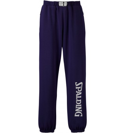 Pantalon de formation Basket Team SPALDING navy/silver