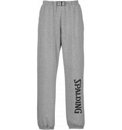 Pantalon de formation Basket Team SPALDING grey/black