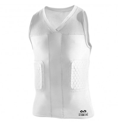 "Maillot de protection ""Dunk"" MC DAVID blanc"